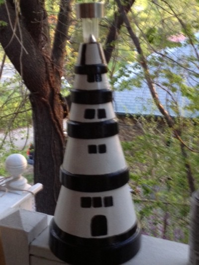 RE: Craft: Terra Cotta Lighthouse