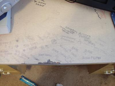 RE: Permanent Marker on a Wood Table