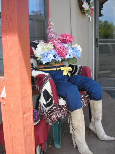 RE: Recycle Jeans As A Planter
