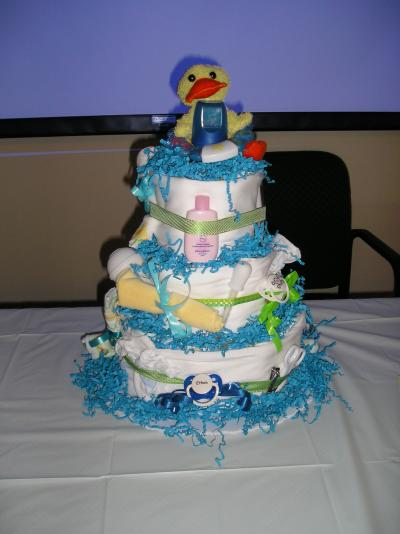 RE: Craft: How to Make a Diaper Cake