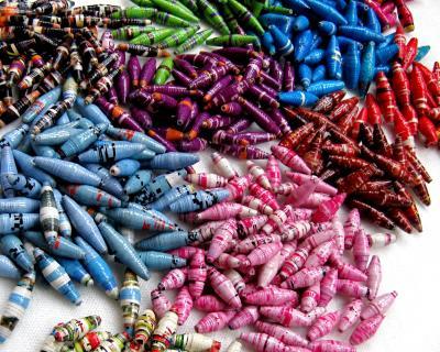 Handmade Ugandan Paper Beads