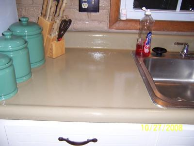 RE: Painting Laminate Countertops