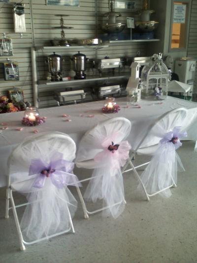 RE: Inexpensive Chair Covers For Wedding