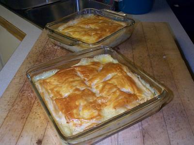 RE: Chicken Pot Pie Recipe w/ puff pastry