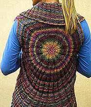 Crochet Sweater: Crochet Vest Pattern For Women - Circle Vest