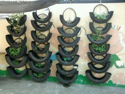 uses for old tires thriftyfun uses for old tyres in garden - Garden Ideas Using Old Tires