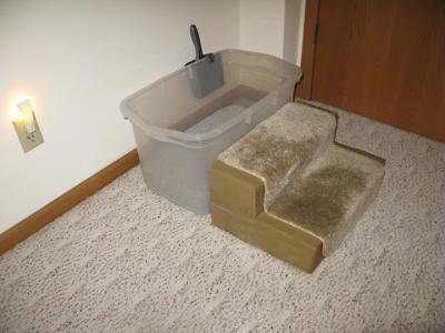 RE: Homemade Deep Litter Box