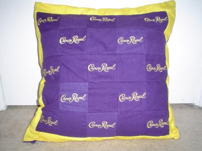 RE: Crown Royal Bag pillow