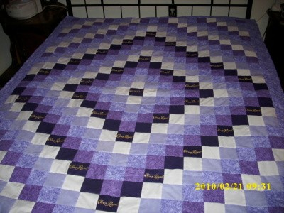 RE: Crown Royal Bag Quilt