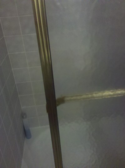 RE: Cleaning Stubborn Shower Doors