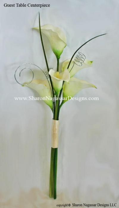 RE Silk Calla Lily Centerpieces