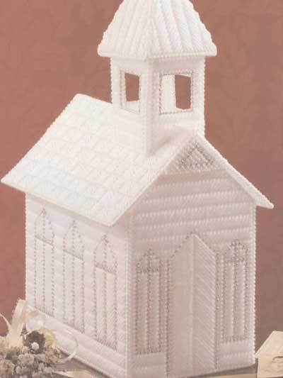 Pattern For Plastic Canvas Church Thriftyfun