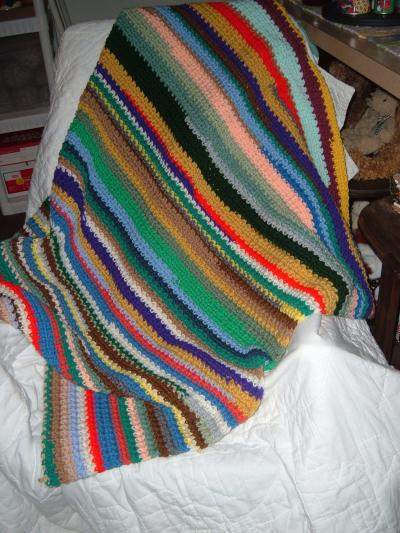 One Piece Crochet Afghan Project ThriftyFun