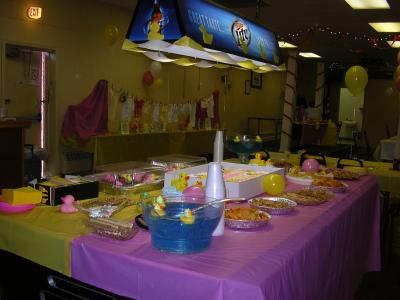 Rubber Duck Baby Shower Centerpieces http://www.thriftyfun.com/tf761572.tip.html