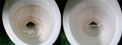 Nasty Rings in toilet...GONE!
