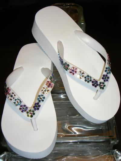 RE: Gluing Rhinestones to Flip Flops