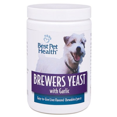Brewers yeast for fleas on dogs
