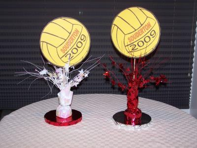 Spring banquet ideas thriftyfun for Athletic banquet decoration ideas