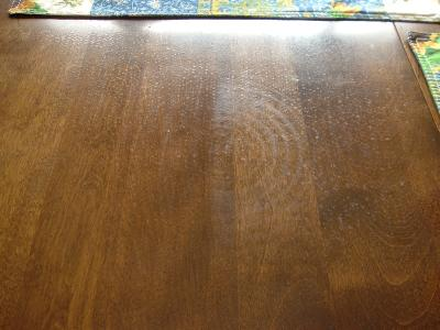 RE: Removing Watermark on an Oak Table