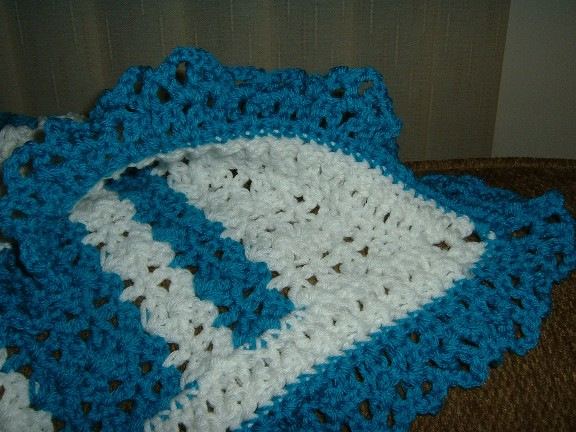 RE: Lee Wards - Shell Stitch Baby Afghan
