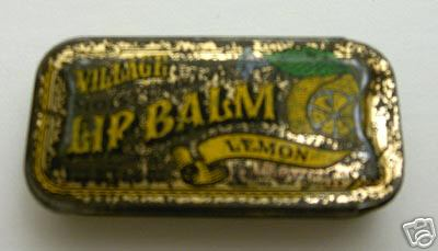RE: Lip Balm in a Rectangular Gold Tin