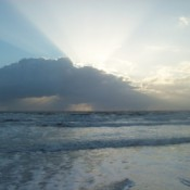 photo of Sunrise at Cocoa Beach