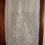 Photo of a Screen Door Drape
