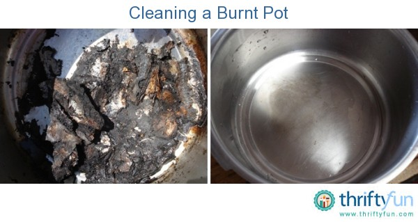 Cleaning Badly Burnt Pots And Pans Thriftyfun