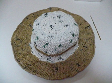 Plarn Hat without Flower