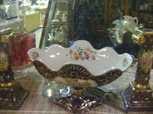 Antique Bowl in Window