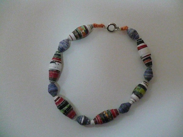 Making paper beads thriftyfun for How to make beads craft