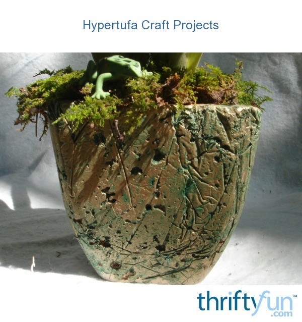 Hypertufa craft projects thriftyfun for Garden pots portland