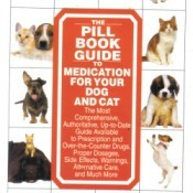 A book called The Pill Book Guide to Medication For Your Dog And Cat.