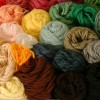 Picture of several skeins of yarn.