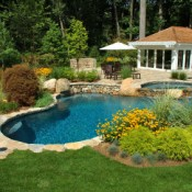 Attractively Landscaped Pool