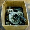 car gear parts in carton box