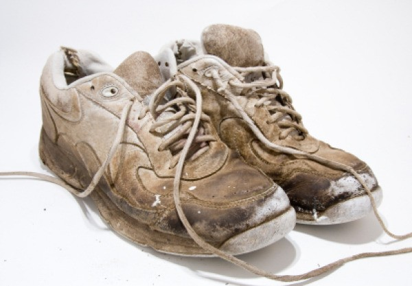 Used Smelly Womens Shoes