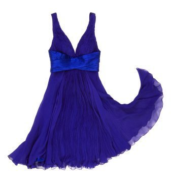 Selling Clothing on eBay, Blue Evening Dress