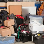Cleaning Your Garage, A very messy garage in need of organizing
