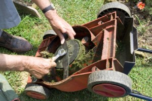 Fixing Lawn Mower