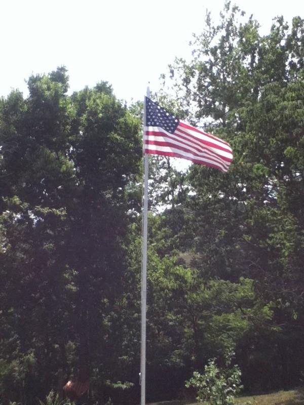 Making A Flag Pole Thriftyfun