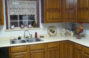 Kitchen Counter Designs on What Color Should I Paint My New Kitchen  It Was Covered In Old