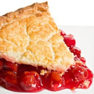 Cherry Pie Recipes, Slice of cherry pie.