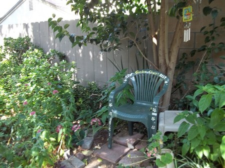 Chair in Secret Garden