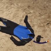Wetsuit on Sand