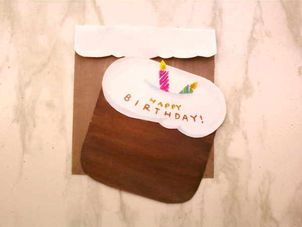Finished Cake Card
