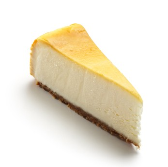 Piece of Lemon Cheesecake