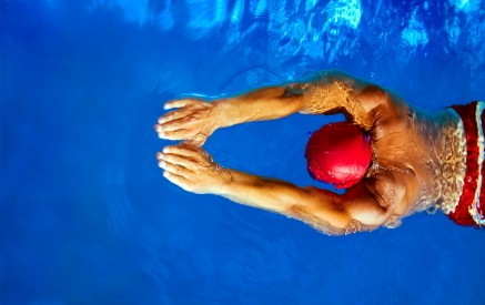 Learning How to Swim as an Adult, Adult Swimmer from Above