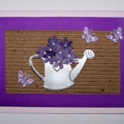 Watering Can Card