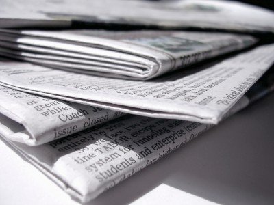 how to make a newspaper clipping
